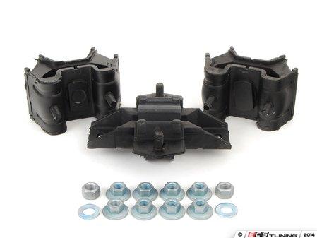 ES#2765420 - 16324002171KT1 - Drivetrain Mount Kit - Includes both engine mounts and transmission mount with hardware - Assembled By ECS - Mercedes Benz