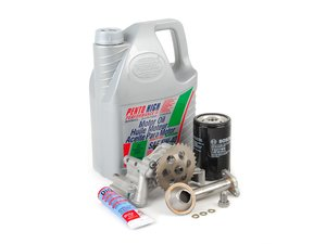 ES#2770328 - 06A115105BKT3 -  Oil Sludge Repair Kit - Plus Grade - Replace your clogged pickup tube and oil pump - Assembled By ECS - Volkswagen