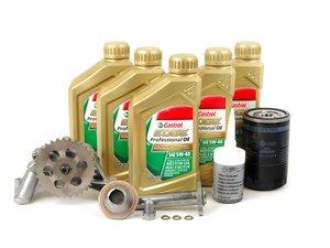 ES#2770252 - 06A115105BKT1 - Genuine Oil Sludge Repair Kit - Premium grade - Replace your clogged pickup tube and oil pump - Genuine Volkswagen Audi - Volkswagen
