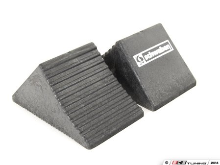 ES#2748980 - 006190SCH01A - Wheel Chocks - Pair - These wheel chocks can be used with our ramps or used alone. These should be used anytime a car is lifted, put in neutral or on an incline. - Schwaben - Audi BMW Volkswagen Mercedes Benz MINI Porsche