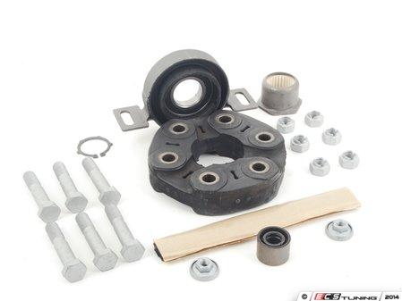 "ES#2762131 - 26111229360KT - Universal Flex Disc Kit  - Includes ""Giubo"", center mount and hardware - Assembled By ECS - BMW"