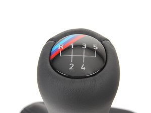 ES#46740 - 25111221901 - M-Technic Illuminated Shift Knob And Boot - 5 Speed - An easy upgrade that will make a stunning difference - Genuine BMW - BMW