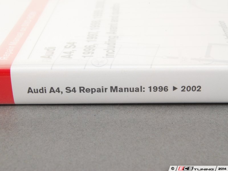 ecs news audi b5 s4 bentley service manual. Black Bedroom Furniture Sets. Home Design Ideas