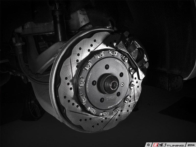 Ecs News Audi B8 S4 Ecs 2 Piece Wave Rotor Brake Kits