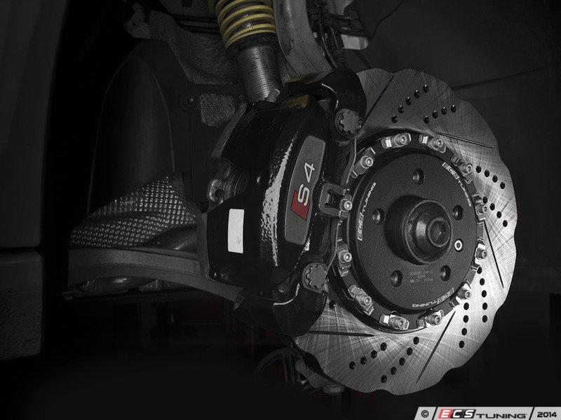 ECS News - ECS 2-Piece Rotors for your Audi B8 S4/S5 Audi S Wheel Rotor on audi s4 tires, audi s4 mesh grill, audi s4 rear differential, audi s4 aftermarket parts, audi s4 front lip, audi s4 brakes, audi s4 lambo doors, audi s4 rims,