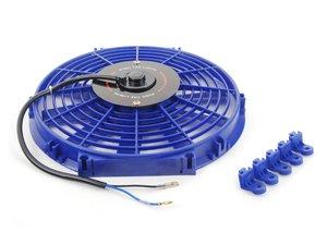 "ES#2764007 - MMFAN12BL - Universal 12"" Electric Fan - Blue - 934 CFM - 5.7 amps at 12.3 volts - Mishimoto - BMW Volkswagen MINI"