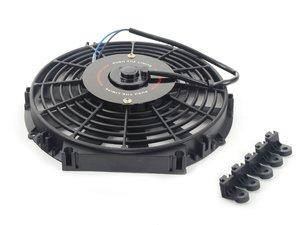"ES#2765250 - MMFAN12 - Universal 12"" Electric Fan - Black - 934 CFM - 5.7 amps at 12.3 volts - Mishimoto - Audi BMW Volkswagen MINI"