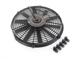 "ES#2764292 - MMFAN14 - Universal 14"" Electric Fan - Black - 954 CFM - 5.6 amps at 12.3 volts - Mishimoto - Audi BMW Volkswagen MINI"