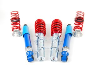 """ES#2042 - 29293-1 - Street Performance Coilover Kit - Fixed Dampening - Height Adjustable from 1.2"""" to 2.2"""" front and 1.0"""" to 2.3"""" rear, ultra performance version - H&R - Volkswagen"""