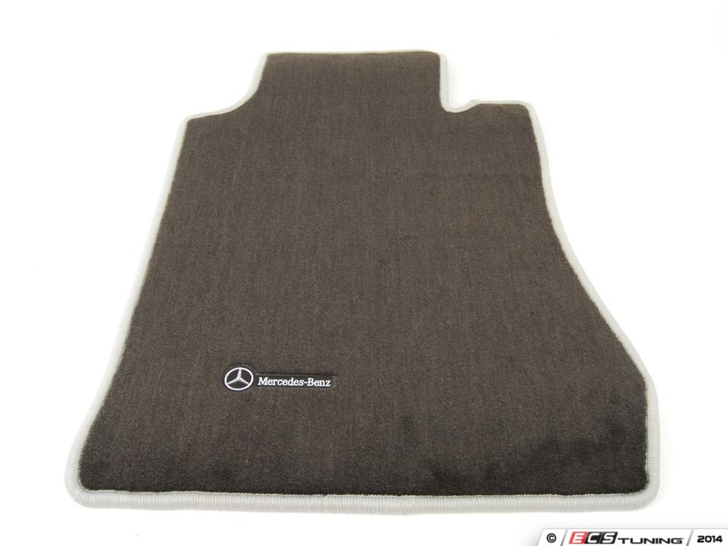 Genuine mercedes benz q6680425 carpeted floor mat set for Mercedes benz e350 floor mats