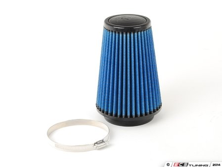 """ES#518476 - 24-33507 - Universal Pro 5R Air Filter - Blue (oiled) - Replacement filter with 3.3125""""inlet, 5""""base, 3.5""""top, and 7""""height - AFE - Volkswagen"""