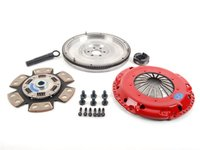 ES#2724986 - K70319FHDDXDB - Stage 2 Drag Clutch Kit - Designed for drag or drift cars that see limited street use. Conservatively rated at 390ft/lbs. - South Bend Clutch - Audi Volkswagen