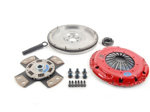 ES#3098804 - k70319fssxKT - Stage 4 Extreme Clutch Kit - Designed for extreme power that needs to be put to the wheels. Conservatively rated at 525+ ft/lbs. - South Bend Clutch - Volkswagen