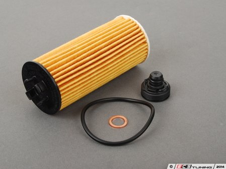 ES#2728689 - 11428570590 - Oil Filter Kit W/ O-Ring - Quality replacement oil filter to ensure your oil stays contaminant free : F56+ - Genuine MINI - MINI