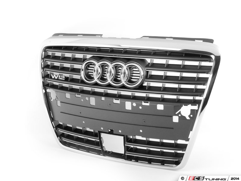 genuine volkswagen audi 4e0853651ab1qp w12 grille. Black Bedroom Furniture Sets. Home Design Ideas