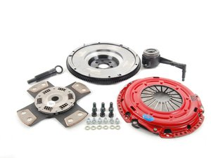 ES#3098761 - k70287fssxKT - Stage 4 Extreme Clutch Kit - Designed for extreme power that needs to be put to the wheels. Conservatively rated at 600+ ft/lbs. - South Bend Clutch - Audi Volkswagen