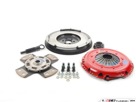 ES#3098862 - k70205fssxKT - Stage 4 Extreme Clutch Kit - Designed for extreme power that needs to be put to the wheels. Conservatively rated at 525+ ft/lbs. - South Bend Clutch - Audi Volkswagen