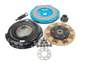 ES#2581171 - b1askkt - Lightweight Flywheel With Segmented Kevlar Clutch Kit - A great clutch setup for your high powered vehicle - UUC - BMW