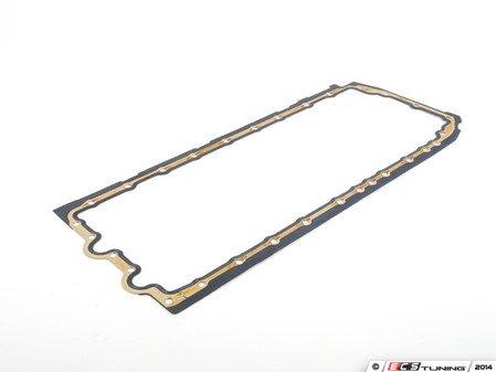 ES#2100511 - 11137600482 - Oil Pan Gasket - Metal/rubber gasket used to stop oil leaks - Genuine BMW - BMW