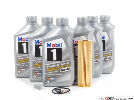 ES#2598456 - 279110006Q15KT - 2003-2005 C230 Kompressor Oil Change Kit - Everything you need to perform an engine oil service - Assembled By ECS - Mercedes Benz