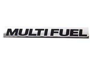 "ES#401522 - 5K0853675J739 - ""Multi Fuel"" Emblem - Great for TDI customers running Bio Diesel - Genuine Volkswagen Audi - Volkswagen"