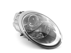 ES#1506980 - 99763116423 - Main Headlight - Right side fitment halogen headlamp - Includes bulbs - Genuine Porsche - Porsche