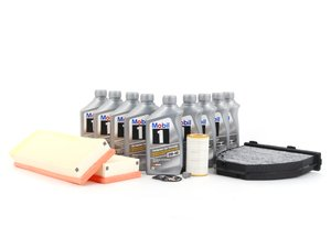 ES#2763765 - 2730940404KT3 - C300 'B' Service Kit - Everything you need to perform a 'B' service - Genuine Mercedes Benz - Mercedes Benz