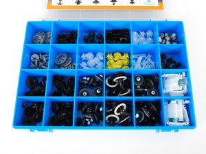 ES#2749147 - v991009 - VW/Audi 18-Piece Fastener Assortment Kit  - Great kit to have around when owning any European vehicle. - Vaico Q+ - Audi Volkswagen
