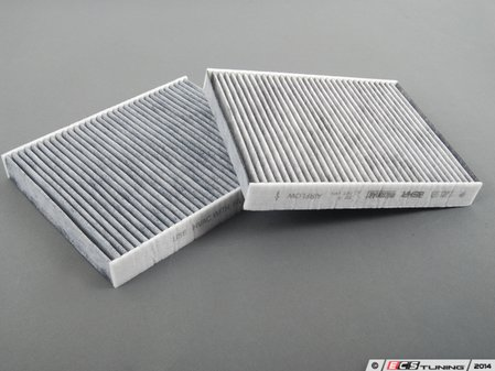 ES#2498606 - 64119272642 - Cabin Filter - Charcoal activated cabin filter set - Genuine BMW - BMW