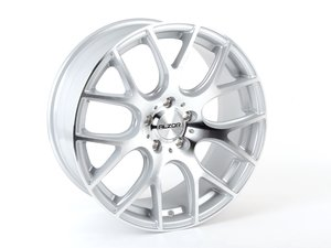 "ES#2738548 - 040-4kt - 18"" Style 040 Wheels - Square Set Of Four - 18x8"" ET35 5x112 - Silver with machined face - Alzor - Audi Volkswagen"