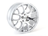 """ES#2738545 - 040-2KT - 18"""" Style 040 Wheels - Set Of Four  - 18""""x9"""" ET30 5x100 - Silver with machined face - Alzor - Audi Volkswagen"""