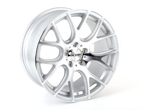 "ES#3613595 - 040-13KT3 - 18"" Style 040 Wheels - Staggered Set Of Four - 18x8"" ET35 18x9 ET38 72.6CB 5x120. Silver With Machined Face - Alzor - BMW"