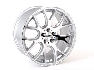 """ES#2738547 - 040-3KT - 18"""" Style 040 Wheels - SET Of THREE - 18""""x10"""" ET25 5x100 - Silver with machined face - Alzor - Audi Volkswagen"""