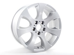 "ES#64991 - 36116775602 - 18"" Ellipsoid Style 162 Wheel - Priced Each - 18x8.5 ET37 CB 72.6mm - Genuine BMW - BMW"