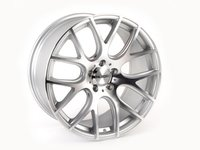 "ES#2771265 - 040-7KT - 19"" Style 040 Wheels - Set Of Four  - 19""x8.5"" ET35 66.6CB 5x112. Hyper Silver with machined face - Alzor - Audi MINI"
