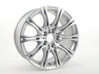 "ES#65137 - 36118036944 - 18"" M Double Spoke Style 135 Wheel - Priced Each - 18x8 ET43 CB 72.6mm. Originally found on E46 ZHP models. - Genuine BMW - BMW"