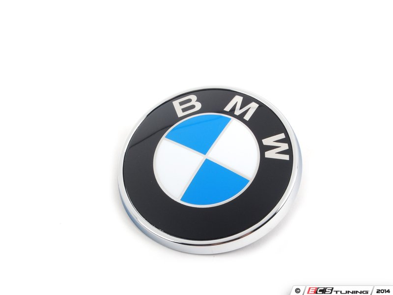Genuine Bmw 51147146052kt Trunk Emblem Amp Grommet Kit