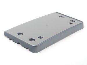 ES#2540938 - 8K0807285H1RR - Front License Plate Bracket - Platinum Grey - Keep a clean look and add a place for your plate - Genuine Volkswagen Audi - Audi