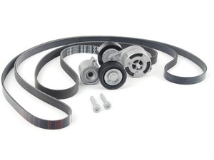 ES#2678396 - 06E903133HKT - Accessory/Supercharger Belt Kit W/ Tensioners - Keep your accessories & supercharger running properly with new tensioners and drive belts - Genuine Volkswagen Audi - Audi