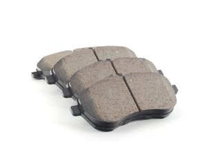 ES#2612240 - 0054201220 - Front Euro Ceramic Brake Pad Set - Includes brake pad wear sensors - Akebono - Mercedes Benz