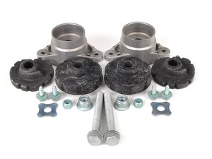 ES#2762728 - 4F0513353DKT2 - Rear Suspension Install Kit - All hardware and mounts necessary to install new suspension - Assembled By ECS - Audi