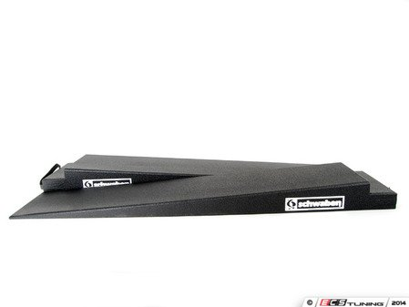 "ES#2748964 - 006167SCH01A - Trailer Ramps 5"" Rise - Pair - Schwaben trailer ramps decrease the angle found on most car trailer's with a rear ramp. The existing ramp sits on a notched lip on the high side of our Schwaben ramps. This allows low profile cars better clearance when entering and exiting trailer. - Schwaben - Audi BMW Volkswagen Mercedes Benz MINI Porsche"