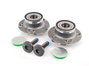 ES#2762573 - 8V0598611AKT - Rear Wheel Bearing Kit - Featuring SKF Rear wheel bearings with mounting hardware - SKF - Audi Volkswagen