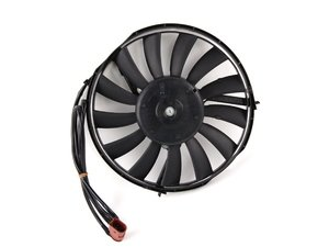 For Audi A6 Q Allroad Q Front A//C Condenser Radiator Fan Motor Assembly Dorman
