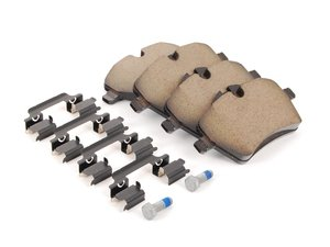 ES#2498881 - 34119808705 - Brake Pad Set - Front - Restore the stopping power in your MINI. With Shims. - Genuine MINI - MINI