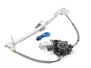 ES#5506 - 443837397D - Window Regulator - Left Front, Includes Motor. - Get those power windows working again. - Primax - Audi