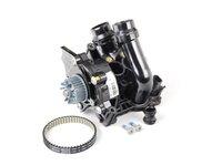 ES#2532908 - 06H121026BAKT - Water Pump Kit - Includes a new water pump, belt, thermostat/housing, union piece & hardware - Genuine Volkswagen Audi - Audi Volkswagen