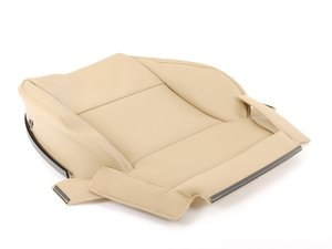 ES#457920 - 8P0881405ASSBG - Front Lower Seat Cover - Torrone (Beige) - Left - Restore the clean look of your interior - Genuine Volkswagen Audi - Audi