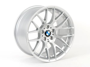 "ES#2581112 - 3611228405560KT - 19"" Competition Package Style 359 Wheels - Staggered Set Of Four - Silver - 19x9 ET31 FR / 19x10 ET25 RR 72.6mm CB - Genuine BMW - BMW"