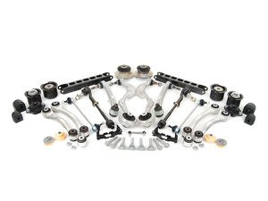 ES#2601977 - 31102283576UKT - Front And Rear Suspension Refresh Kit - Level 3 - Total front and rear suspension rebuild kit utilizing M3 front and rear control arms with bushings and subframe bushings - with high quality aftermarket components - Assembled By ECS - BMW